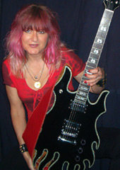 female guitarist Rynata
