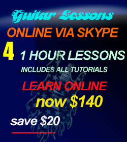 Online Guitar Lessons Discount Pack