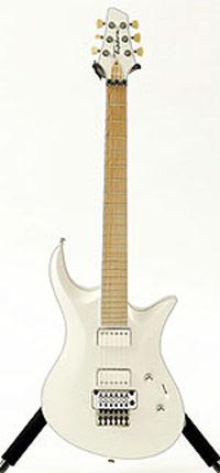 Tipton handmade guitar for Shredmistress